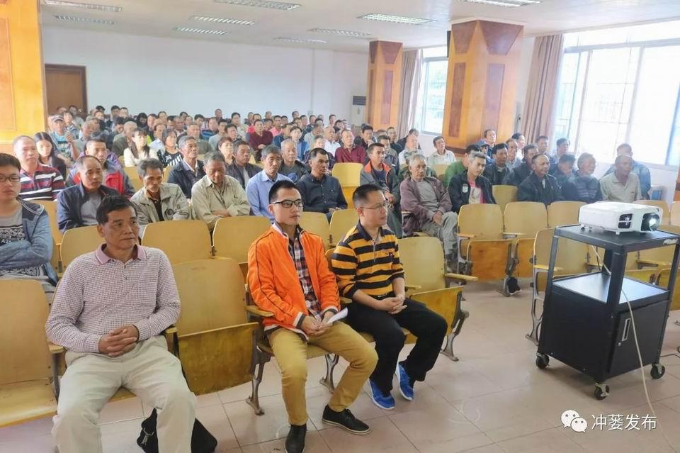 冲蒌镇举办三资管理业务知识培训班